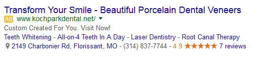 local adwords review ad
